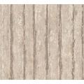 Schöner Wohnen Mustertapete in Vintage Holz Optik Tapete beige grau metallic 10,05 m x 0,53 m