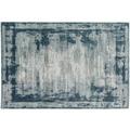 Schöner Wohnen Teppich Brilliance Design 181, Farbe 020 Streifen blau 200 x 290 cm