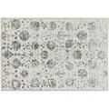 Schöner Wohnen Teppich Brilliance Design 184, Farbe 040 Blumen grau 200 x 290 cm