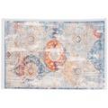 Schöner Wohnen Teppich Mystik D. 192 C. 004 Orient silber 133x185 cm