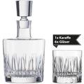 Schott Zwiesel Whisky Karaffe Basic Bar Selection hoch + 6 Whisky Basic Bar Selection Gläser
