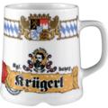 Seltmann Weiden Becher 1044 0,32 l Compact Bayern 27110 blau, gelb, rot/rosa