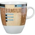Seltmann Weiden Becher 5025 VIP Brasilien 23298 creme, blau, braun, schwarz