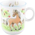 Seltmann Weiden Kinderbecher mit Henkel 0,25 l Compact Mein Pony 24778 Porzellan