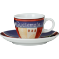 Seltmann Weiden Espressotasse 1132 VIP Guatemala 23303 blau, rot/rosa, creme