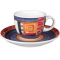Seltmann Weiden Espressotasse 1132 VIP Loreto 22125 lila, rot/rosa, orange