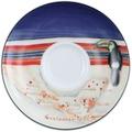 Seltmann Weiden Espressountertasse 1132 12 cm VIP Guatemala 23303 blau,rot/rosa,creme