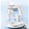 Seltmann Weiden Frühstück-Set 18-tlg. E Allegro weiß uni 00003