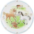 Seltmann Weiden Frühstücksteller 20 cm Fahne Compact Mein Pony 24778 braun, grün, schwarz