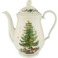 Seltmann Weiden Kaffeekanne 6 Personen Marie Luise Weihnachten 43607 bunt, grün