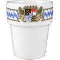 Seltmann Weiden Milchbecher groß Compact Bayern 27110 blau, gelb, rot/rosa
