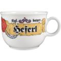Seltmann Weiden Obere zur Kaffeetasse 0,21 l Compact Bayern 27110 blau, gelb, rot/rosa