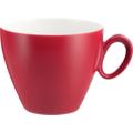 Seltmann Weiden Obere zur Kaffeetasse 0,23 l Trio Rubinrot 23604 rot/rosa