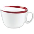 Seltmann Weiden Obere zur Milchkaffeetasse 0,37 l Paso Bossa Nova 23627 rot/rosa, schwarz