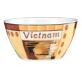Seltmann Weiden Schale 5121 13 cm VIP Vietnam 23302 orange, creme, braun