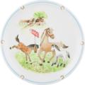 Seltmann Weiden Speiseteller 25 cm Fahne Compact Mein Pony 24778 braun, grün, schwarz