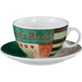 Seltmann Weiden Tasse 1164 VIP Costa Rica 23300 grün, schwarz, creme