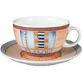Seltmann Weiden Tasse 1164 VIP Grado 22128 creme, blau, orange
