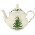 Seltmann Weiden Teekanne 6 Personen Marie Luise Weihnachten 43607 bunt, grün