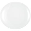 Seltmann Weiden Teller oval 5235 34 cm Meran weiß uni 6