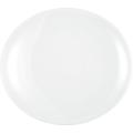 Seltmann Weiden Teller oval 5235 34 cm Modern Life weiß uni 00006