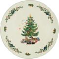 Seltmann Weiden Tortenplatte 30 cm Marie Luise Weihnachten 43607 bunt, grün
