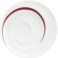 Seltmann Weiden Untere rund groß 16,5 cm Paso Bossa Nova 23627 rot/rosa, schwarz