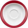 Seltmann Weiden Untere zur Frühstückstasse 17,5 cm Trio Rubinrot 23604 rot/rosa
