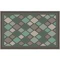 Siena Garden Dover Outdoor-Teppich, 2er-Set 213x160 & 112x80 cm grün