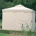 Siena Garden Satz Seitenteile zu Pavillon Dubai, ohne Fenster, 4 Stück, 300x300 cm, natur
