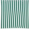 Siena Garden Seitenteile-Set, für Faltpavillon, 2-teilig, 1 Seitenteil mit Fenster, 1 Seitenteil ohne, grün/weiß