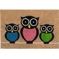 Siena Home Kokosmatte Coco Owls 40 x 60 cm
