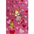 Sigikid Kinderteppich Pinky Queeny SK-22428-055 pink 80x150 cm