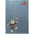 Sigikid Kinder-Teppich Rainbow Rabbit SK-0523-01 blau 80 x 150 cm