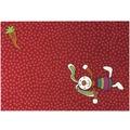 Sigikid Kinder-Teppich Rainbow Rabbit SK-0523-02 rot 120 x 170 cm