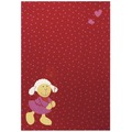 Sigikid Kinder-Teppich Schnuggi SK-0524-05 rot 120 x 170 cm