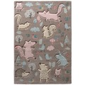 Sigikid Teppich Forest SK-21965-070 taupe 80x150