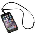 Sinji Bungee Buddy - Universal Silikon-Tragegurt für Smartphones - schwarz