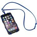 Sinji Bungee Buddy - Universal Silikon-Tragegurt für Smartphones - blau