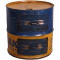 SIT-Möbel DRUMLINE Beistelltisch 2 Schubladen gelb/blau