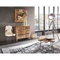 SIT-Möbel ROMANTEAKA Wand-Deko/Wandregal 3 Ablagen natur