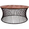 SIT-Möbel THIS & THAT Couchtisch Gestell schwarz lackiert, Platte natur