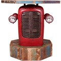 SIT-Möbel THIS & THAT Traktor - Biertisch 1 Tür, 1 Ablagefläche Rot-bunt