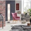 SIT &CHAIRS Sessel rosa Gestell natur, Bezug rosa