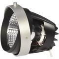 SLV COB LED MODUL für AIXLIGHT PRO Einbaurahmen, silbergrau, 70°, 3000K silbergrau