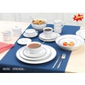 Snap by R&B Müsli Porzellan 15x15x8cm rund 500ml BASIC BLUE blau weiß