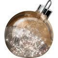 Sompex Dekoleuchte Christbaumkugel Ornament LED Kupfer D30cm