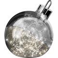 Sompex Dekoleuchte Christbaumkugel Ornament LED Smoke D20cm