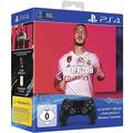 Sony Playstation 4 Dualshock Wireless Controller V2, steel black, FIFA 20 Bundle