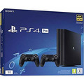 Sony Playstation 4 (PS4) Pro 1TB inkl. 2. Controller
